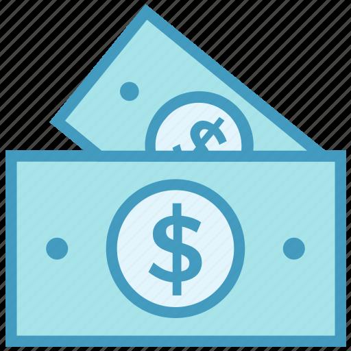 cash, dollar, dollar notes, finance, money, payment icon