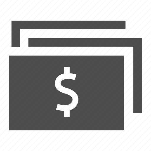 bill, cash, coin, currency, dollar, finance, money icon