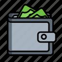 billfold, buy, cash, notecase, pocketbook, wallet icon