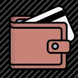 bag, card, case, handbag, payment, pouch, purse icon