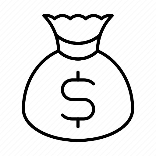 bag, cash, coins, currency, dollar, finance, money icon