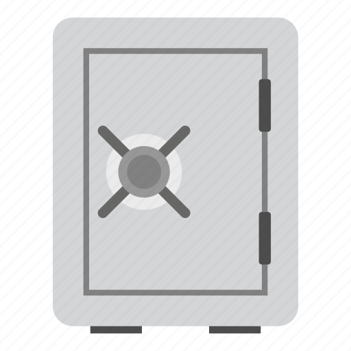 bank, box, deposit, finance, safe, safety, steel icon