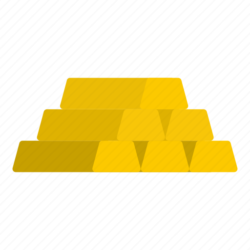 bar, finance, gold, investment, metal, treasure, wealth icon