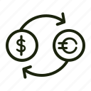 bank, business, cash, coin, dollar, finance, money icon