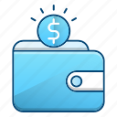 payment, savings, shopping, wallet icon