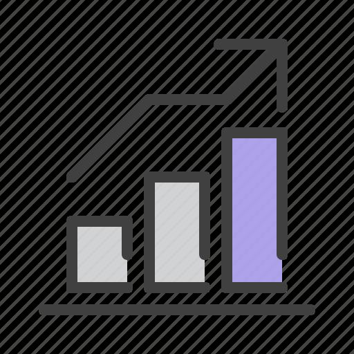 analytics, banking, business, chart, finance, graph, money icon