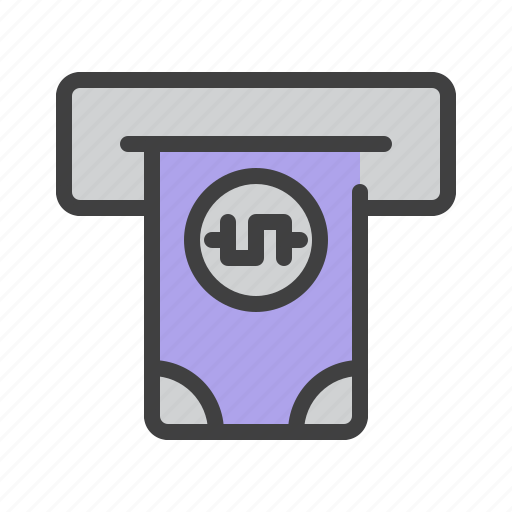 atm, banking, cash, credit, finance, money, payment icon