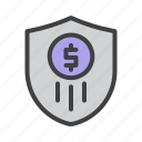 banking, business, finance, insurance, marketing, money, protection icon