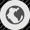 earth, internet, online, web, world icon