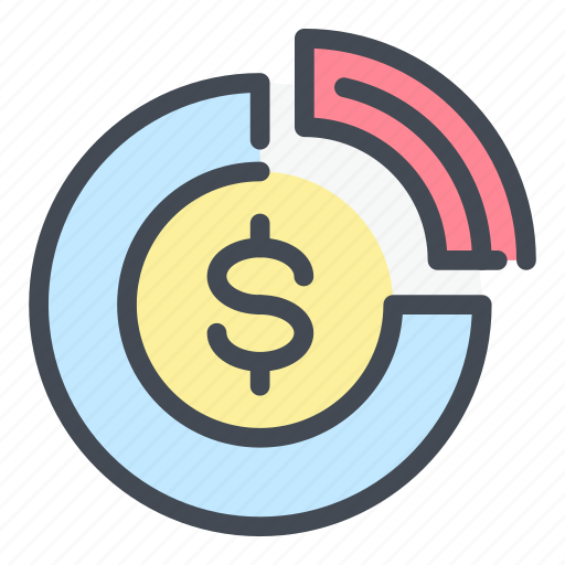 analytics, dollar, finance, money, payment, statistics, stats icon