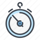 appointment, chronometer, schedule, stopwatch, timepiece, timer, watch icon