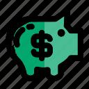 bank, banking, pig, piggy, piggy bank, savings