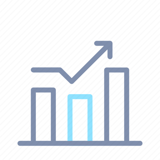 banking, business, finance, graph, growth, money, report icon