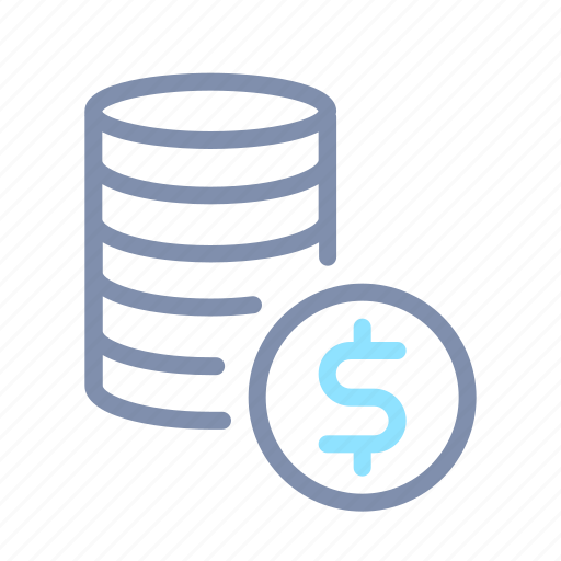 banking, business, cash, coin, currency, finance, money icon