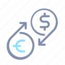 banking, business, currency, exchange, finance, marketing, money icon