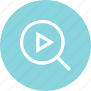 music, search, video, youtube icon