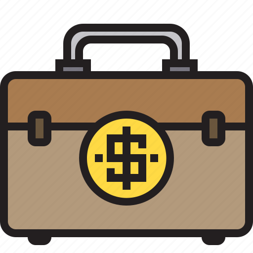 bag, business, finance, money, office icon