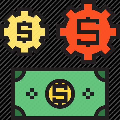 business, cash, dollor, finance, money icon
