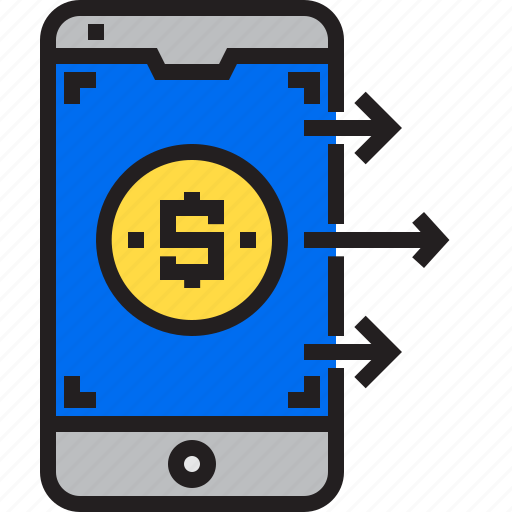 business, finance, marketing, mobile, money icon