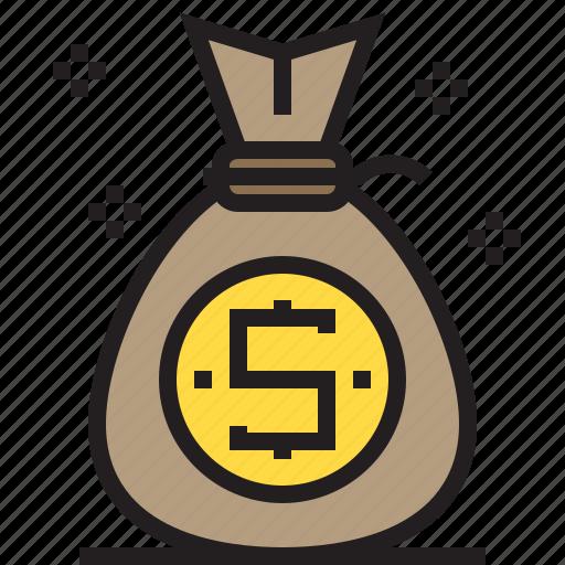bag, business, finance, marketing, money icon