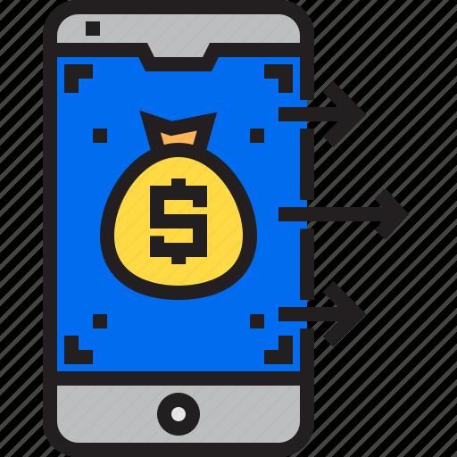 Bag, business, finance, marketing, money icon - Download on Iconfinder