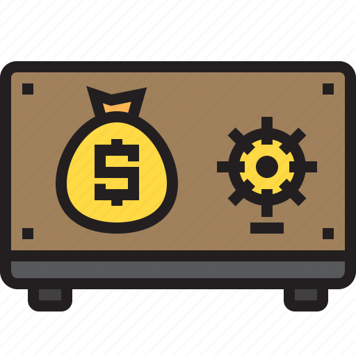 bank, business, finance, money, save icon