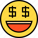 business, finance, money, online, smile icon
