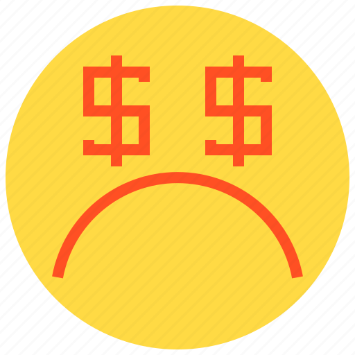 bad, business, finance, money icon