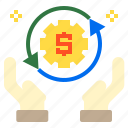business, cash, finance, money icon