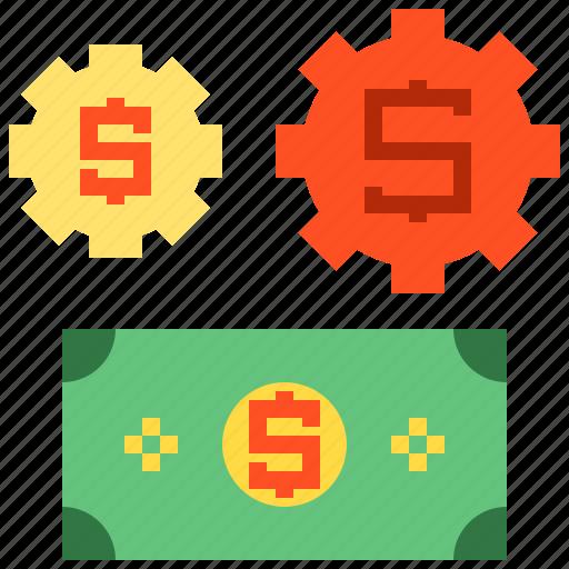 business, dollor, finance, money icon