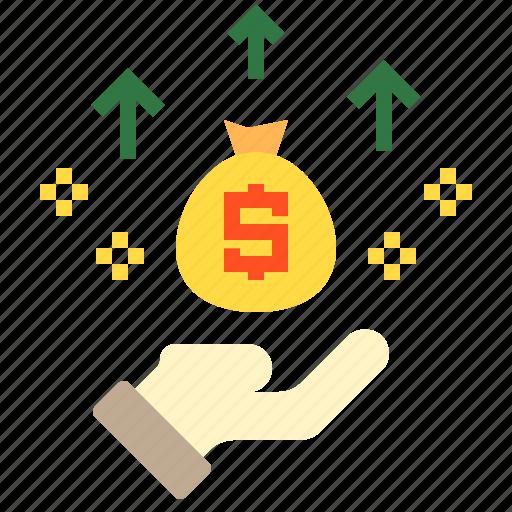 bag, business, finance, money icon
