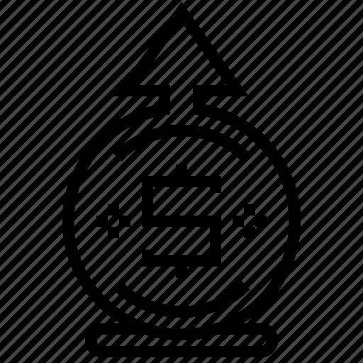 business, cash, finance, money icon