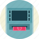 atm, machine, teller icon