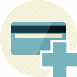 add, card, credit, debit icon
