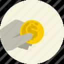 cash, coin, money, payment