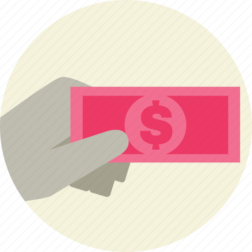 cash, money, notes, payment icon