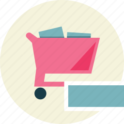 remove, shopping, trolley icon