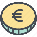 budget, business, coin, currency, euro, finance, money
