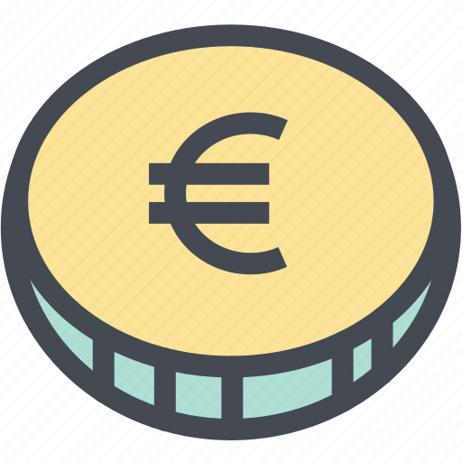 budget, business, coin, currency, euro, finance, money icon
