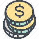 budget, business, coins, currency, dollar, finance, money