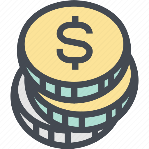 budget, business, coins, currency, dollar, finance, money icon