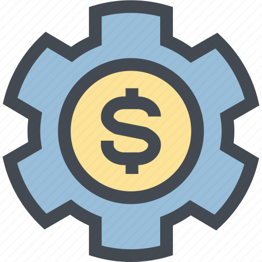 Business, coin, finance, gear, mechanism, money, money settings icon - Download on Iconfinder