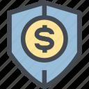 coin, finance, monetary, money, money protection, protection, shield