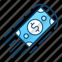cash, flow, making money, rich, speed icon
