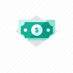 letter, money icon