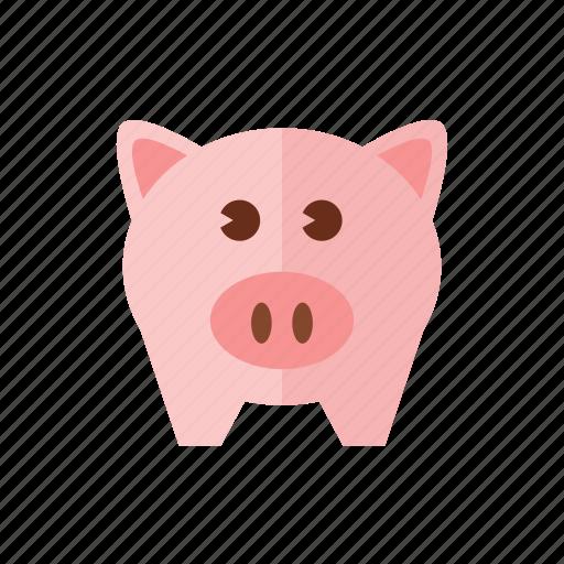 bank, piggy, piggy bank, savings icon