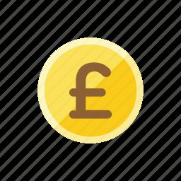 coin, pounds icon