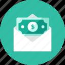 money, letter