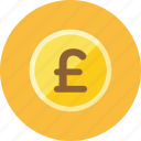 coin, pounds