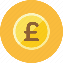 coin, pounds icon